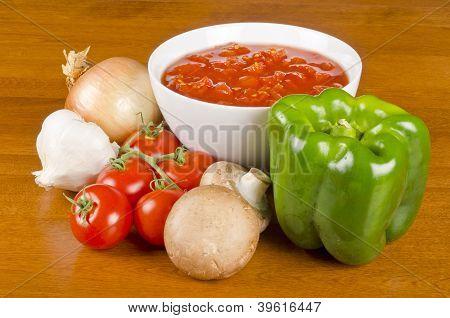 Pasta Sauce Ingredients