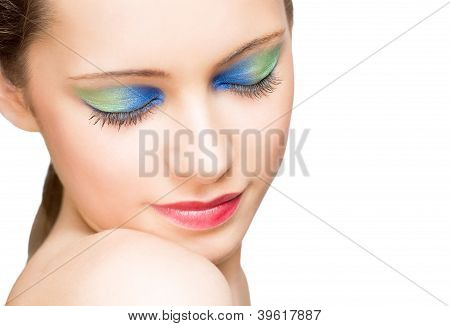 Makeup With Amazing Colors.