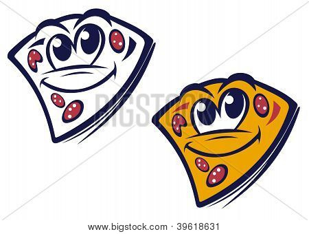 Funny Slice Of Pizza