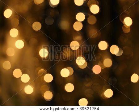 Gold Festive Christmas Background