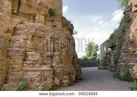 Passage Around Wertheim Castle