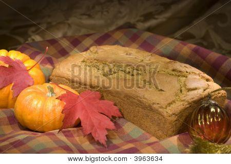 Autumn Menu - Pumpkin Bread
