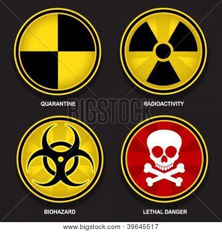 Símbolos de perigo