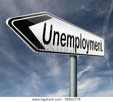 desemprego taxa trabalho solto perda jobloss do desemprego causado pela recessão