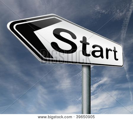 start button start icon begin beginning origin