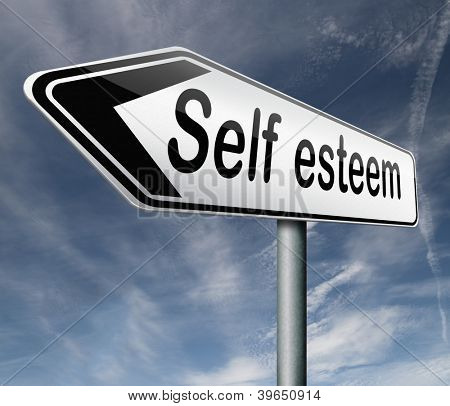 self esteem or respect confidence and pride psychology
