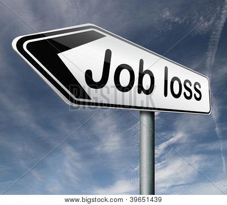 perda de emprego, ser demitida solta seu você está despedido desempregados de trabalho perda