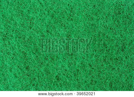 Green Abrasive Sponge Texture