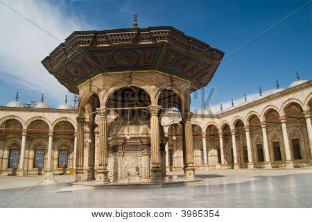 Inside Muhammad Ali Mosque