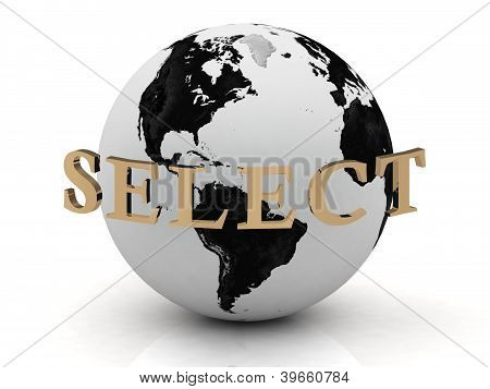 Select Abstraction Inscription Around Earth