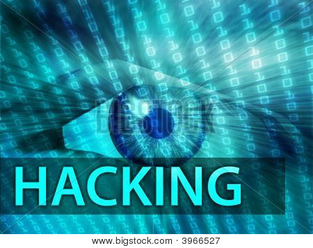 Hacking Illustration