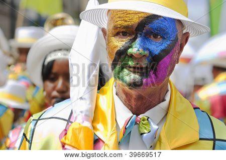 Minstrel Carnival Face Paint