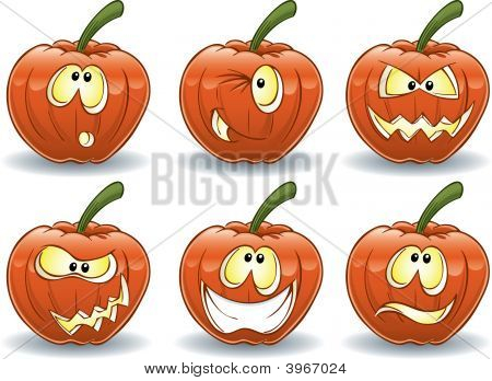 Pumpkin Emoticons