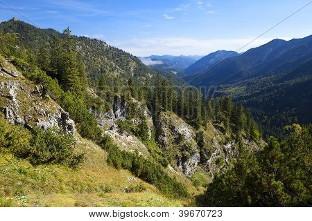 Beautiful Wild Bavarian Alps