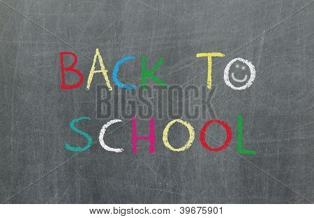 Back To School, Blackboard