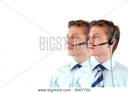 Male Customer Support Service