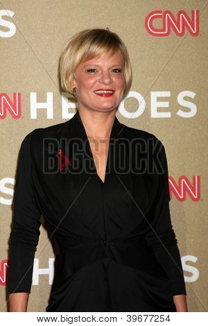 LOS ANGELES - DEC 2:  Martha Plimpton arrives to the 2012 CNN Heroes Awards at Shrine Auditorium on December 2, 2012 in Los Angeles, CA
