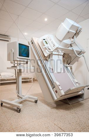 X-ray (or Radiography) Equipment At Hospital