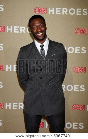 LOS ANGELES - DEC 2:  Aldis Hodge arrives to the 2012 CNN Heroes Awards at Shrine Auditorium on December 2, 2012 in Los Angeles, CA