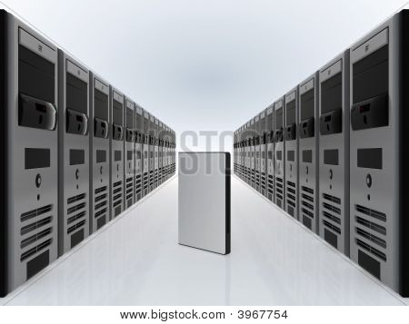 Computer Servers And Dvd Software Case