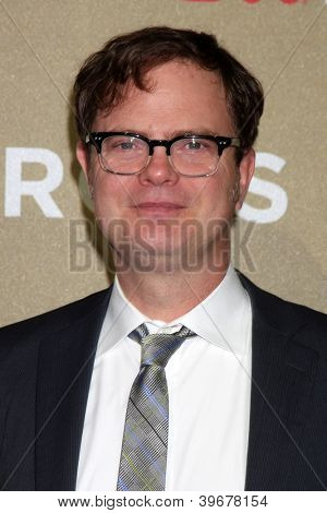 LOS ANGELES - DEC 2:  Rainn Wilson arrives to the 2012 CNN Heroes Awards at Shrine Auditorium on December 2, 2012 in Los Angeles, CA