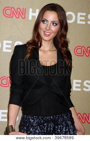 LOS ANGELES - DEC 2:  Eva Amurri Martino arrives to the 2012 CNN Heroes Awards at Shrine Auditorium on December 2, 2012 in Los Angeles, CA