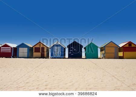 Australia Tour To Brighton Beach Bathing Boxes