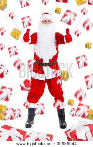 Santa clause creative design