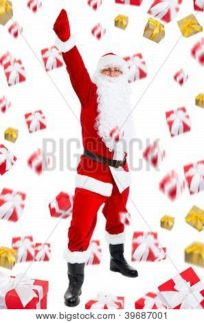 Santa clause creative design