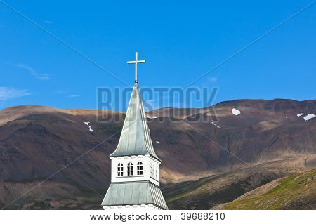 Iceland Church Steeple