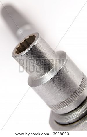 Socket Wrench Close Up