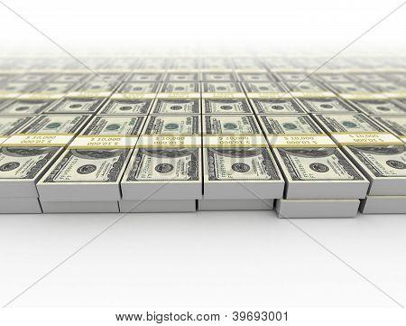 Money Us Dollars Background