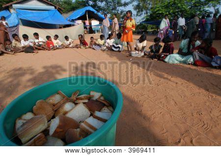Bread For Tsunami Victims