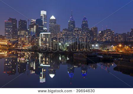 Skyline von Philadelphia.