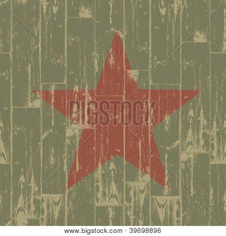 Fist - revolution symbol. Grunge. Raster version, vector file available in portfolio.