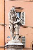 foto of luigi  - statue of Luigi Galvani  - JPG