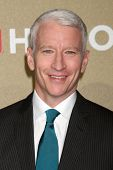 LOS ANGELES - DEC 2:  Anderson Cooper arrives to the 2012 CNN Heroes Awards at Shrine Auditorium on