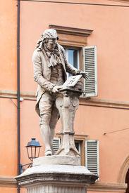 stock photo of luigi  - statue of Luigi Galvani  - JPG