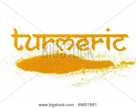 Yellow Turmeric Spice
