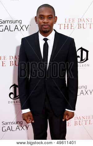 NEW YORK-AUG 5: Actor Aml Amee attends the premiere of Lee Daniels'