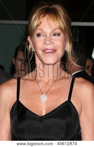 LOS ANGELES - AUG 14:  Melanie Griffith at the