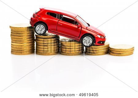 declining profits in the automobile and for car manufacturers.