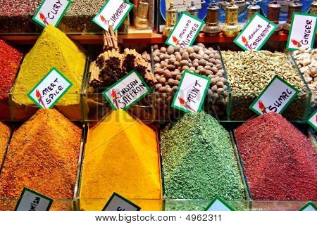 Spices On Retail Market