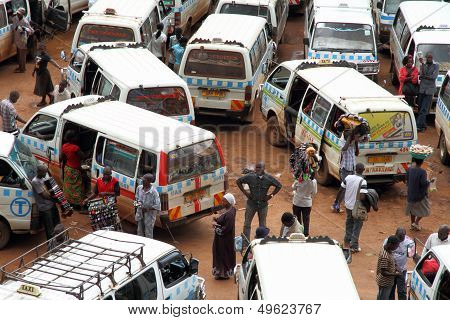 Ugandans In The Taxi Park