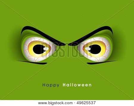 Happy Halloween background, flyer, poster or banner.