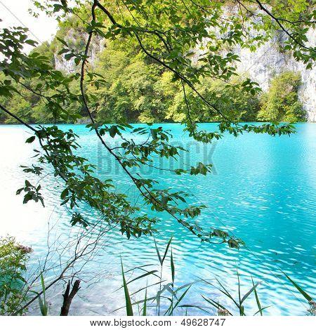 amazing turquoise lake