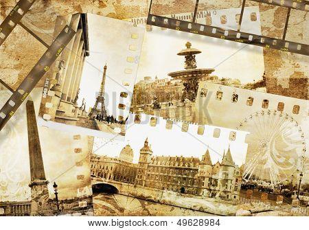 vintage photoalbum - Paris