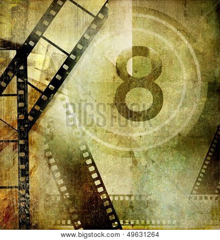 vintage movies background