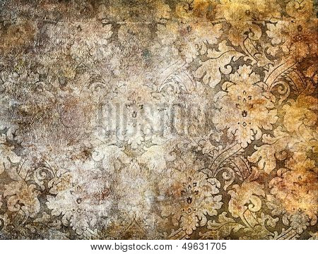 decorative background in golden colors