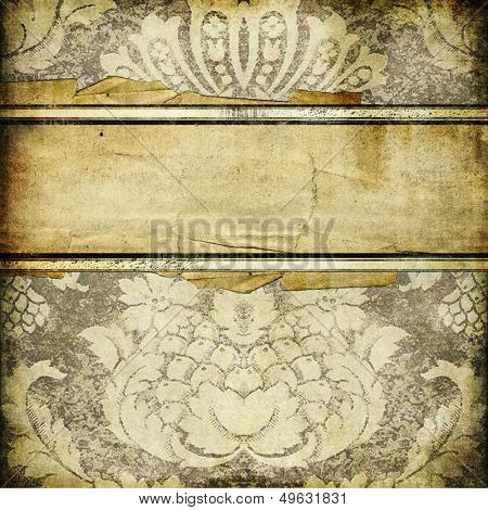 vintage paper background with place for text